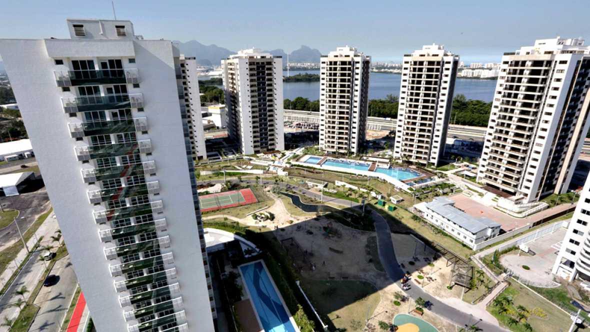 La de Río de Janeiro será la villa olímpica más grande de la historia. 31 edificios de 17 pisos cada uno, 3.600 apartamentos donde vivirán casi todos los atletas, salvo aquellos que prefieran hoteles en Ipanema o Copacabana.