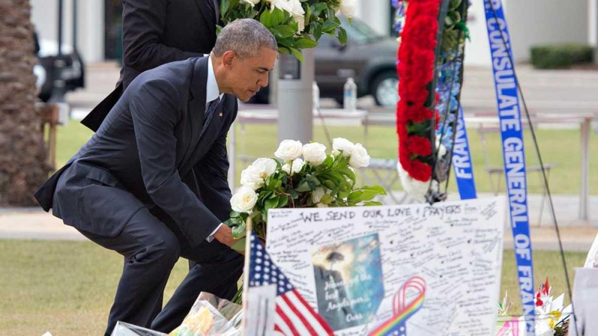 Obama viaja a Orlando para consolar a las víctimas de la masacre de la discoteca Pulse