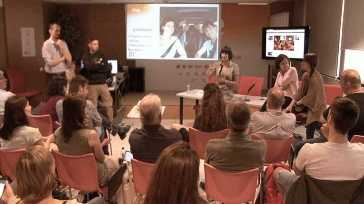 OI2 - Presentación del eportaje sobre la problemática de los manteros en Barcelona