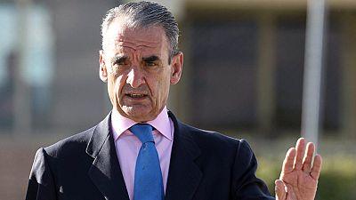 Mario Conde sale de la prisión de Soto del Real