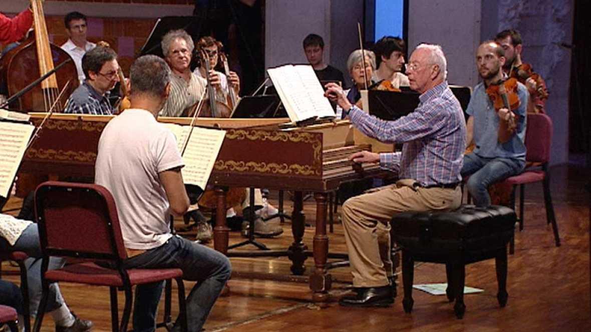 William Christie comienza su gira española en Barcelona listo para interpretar la 'Misa' de Bach