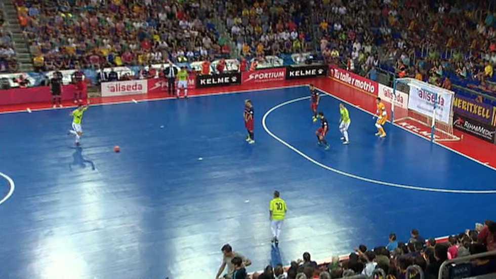 Futbol sala liga nacional play off final 4 partido for Federacion de futbol sala