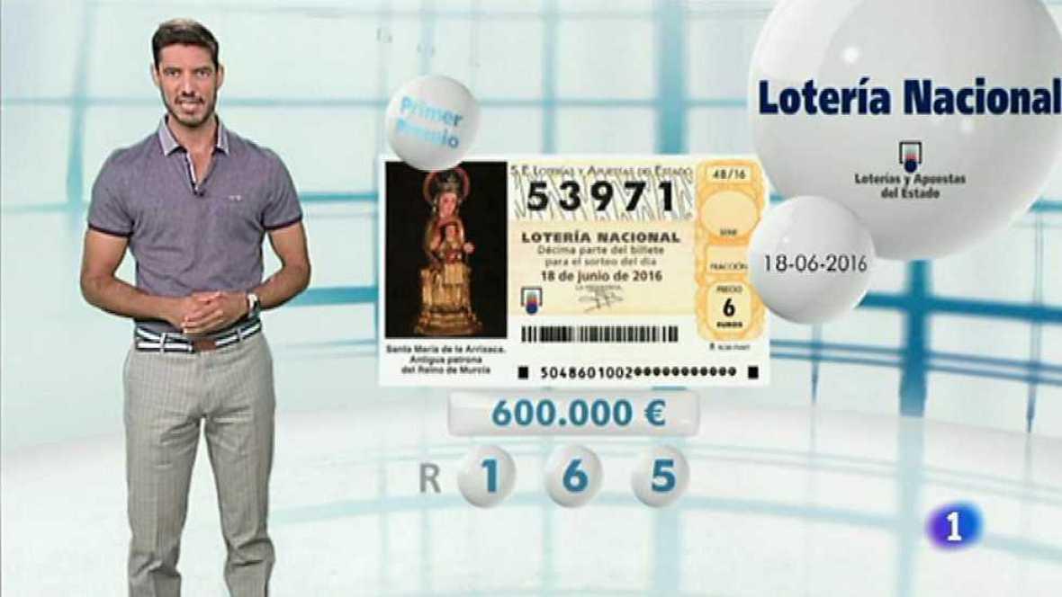Lotería Nacional - 18/06/16 - ver ahora