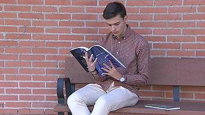 Jaime Redondo, 'el chico 10 de la selectividad madrileña'
