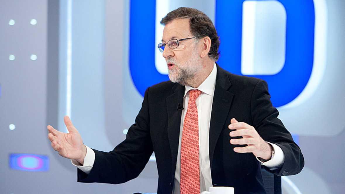 """Rajoy presiona a PSOE y Ciudadanos: """"No creo que pretendan llevarnos a unas terceras elecciones"""""""