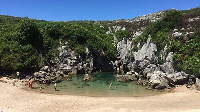 Gulpiyuri, una playa diminuta