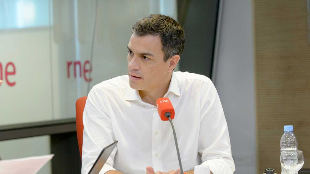 """Las mañanas de RNE - Pedro Sánchez: """"Votar a los extremos es un ejercicio de inutilidad"""" - Ver ahora"""