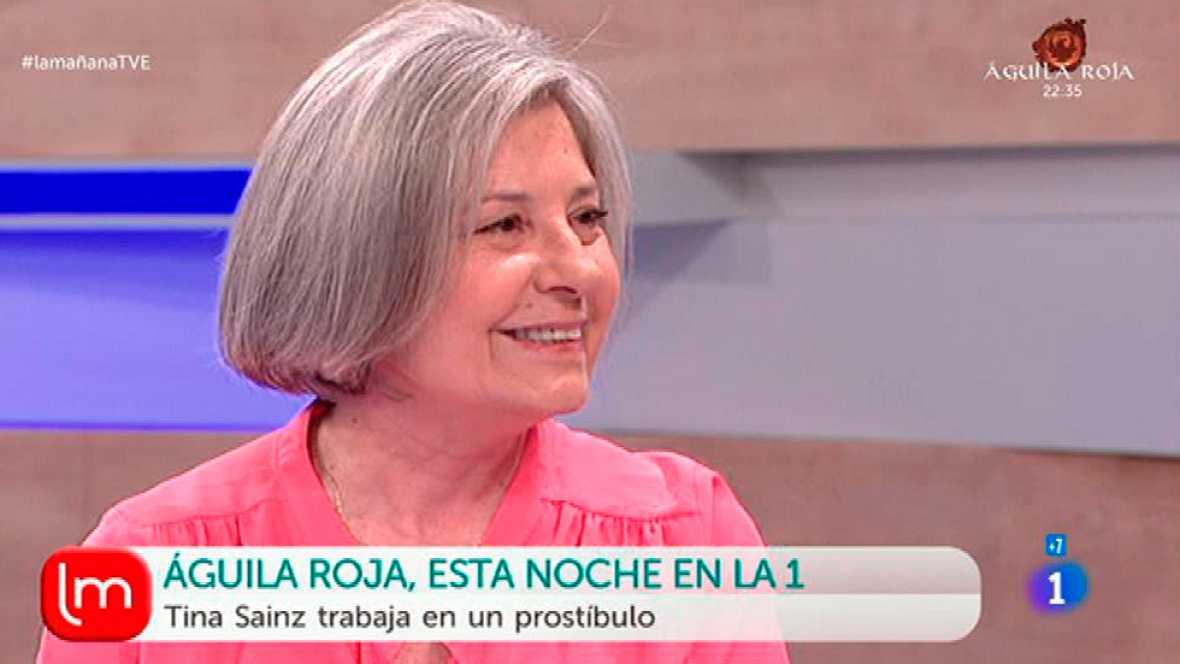 La Mañana - Tina Sainz es Flora en Águila Roja
