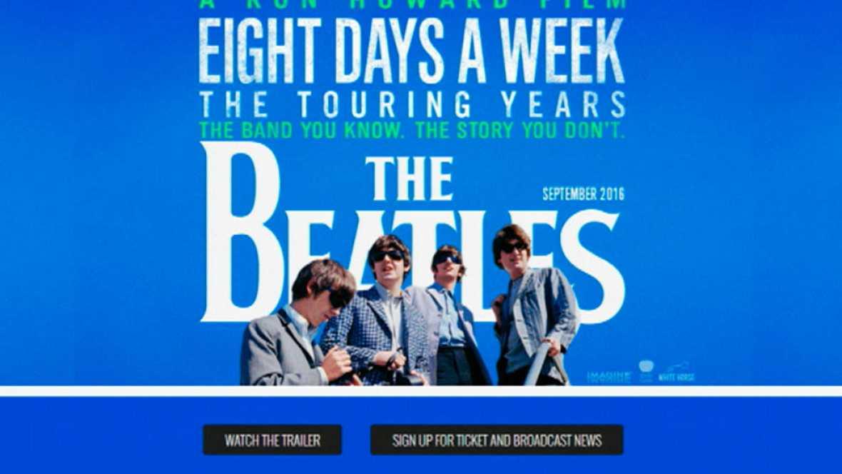 Ya podemos ver algunas imágenes del esperado documental sobre los Beatles que ha dirigido Ron Howard