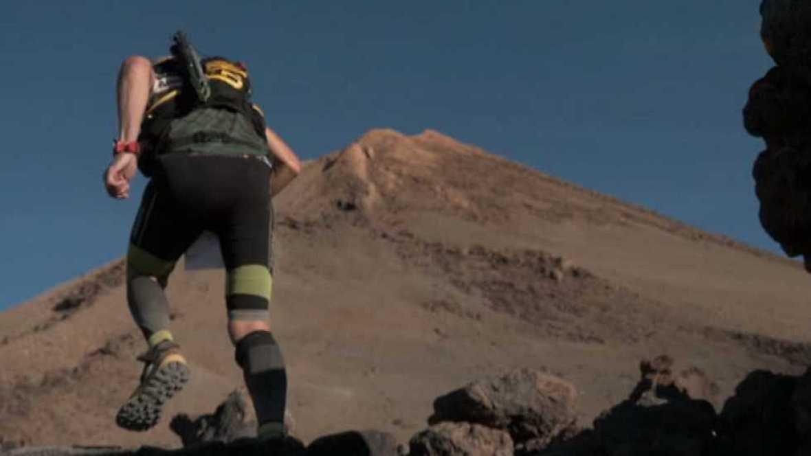 Carrera de montaña - Tenerife Blue Trail 2016 - ver ahora