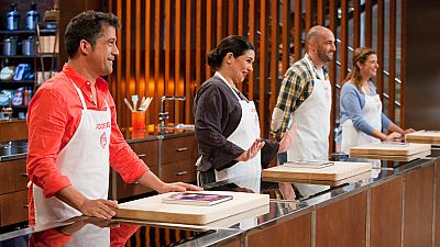 MasterChef 4 - �ngel, Jos� Luis, Roc�o y Virginia son los finalistas