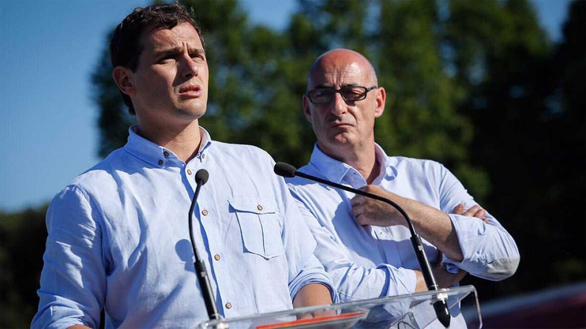 Rivera pide una reunión el 27J con los equipos del PP y el PSOE