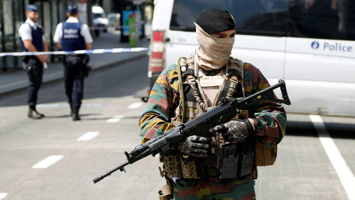 Un detenido por una falsa alerta terrorista en Bruselas
