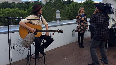 La terraza de ED: Coque Malla