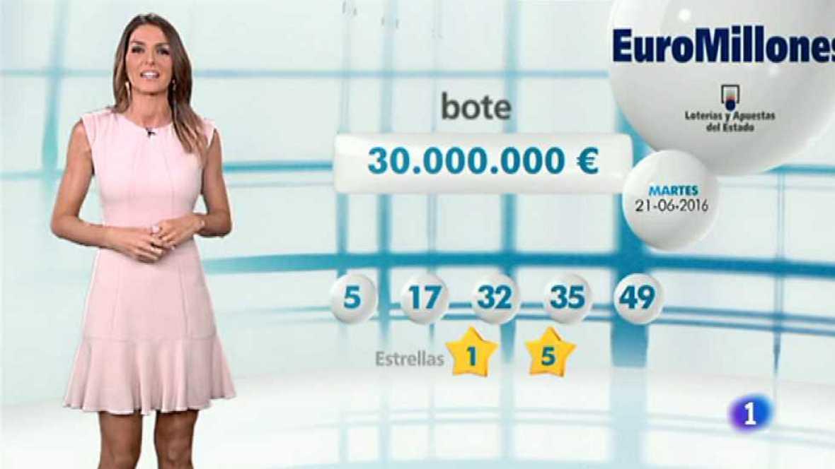 Bonoloto + EuroMillones - 21/06/16 - ver ahora