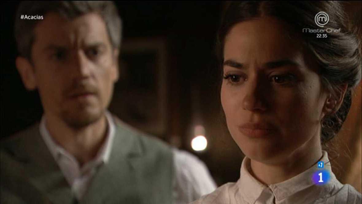 Acacias 38 - Mauro le dice a Teresa que se casará con Humildad