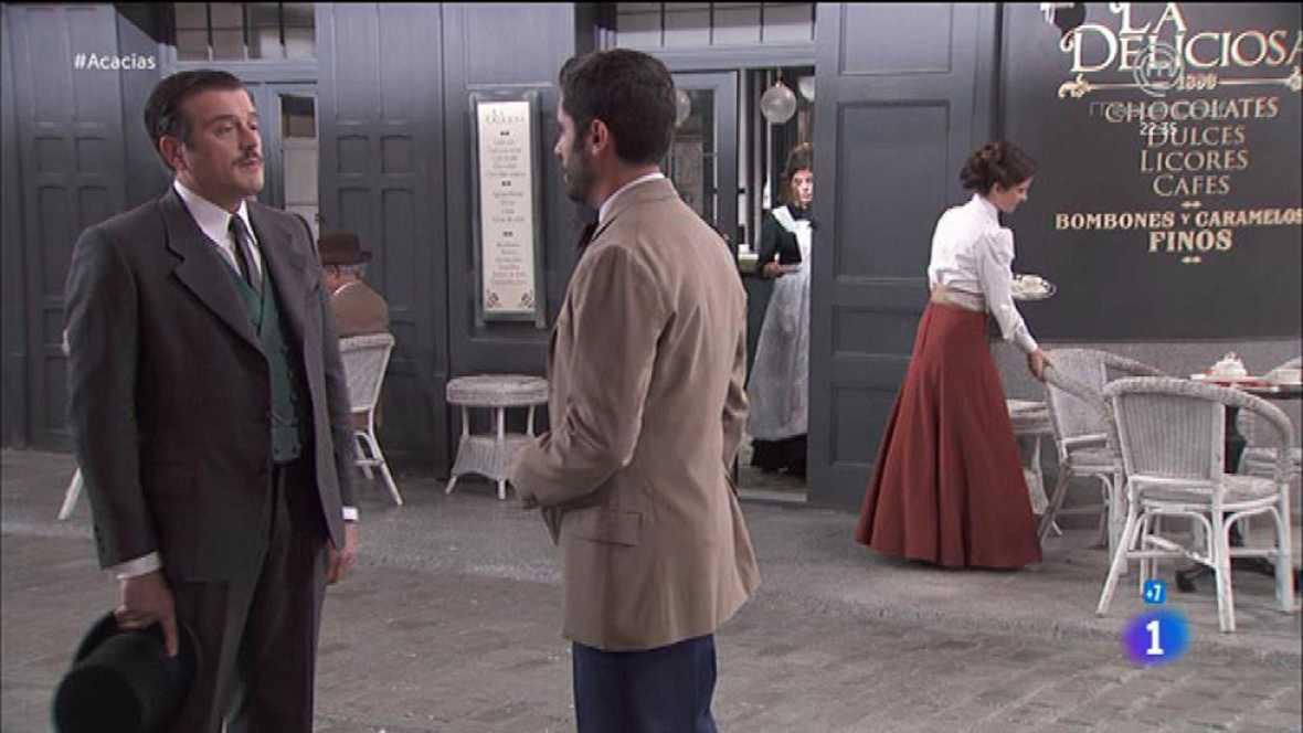 Acacias 38 - Víctor le agradece a Leandro que lo defendiese ante Susana