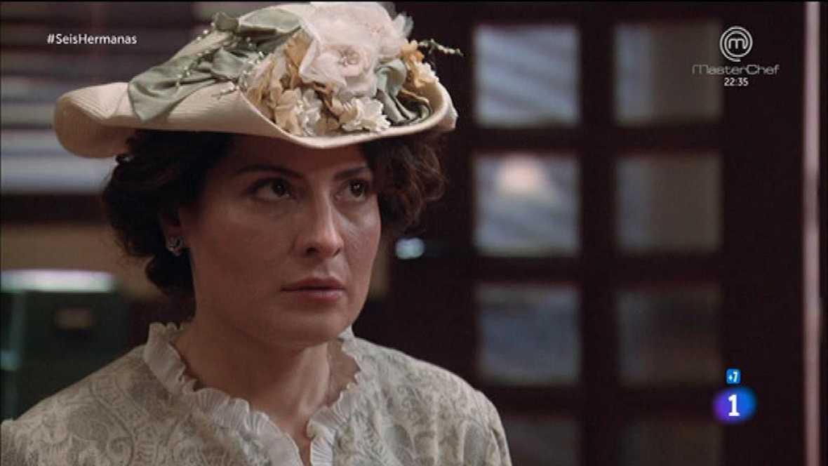 Seis Hermanas - Celia y Velasco interrogan a Leticia