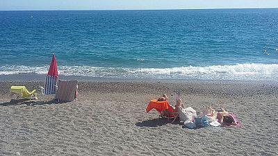A la playa, sin coche