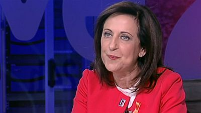 """Margarita Robles: """"Cuando un Gobierno tiene a un ministro del Interior que es capaz de no tutelar los derechos y libertades, eso trasciende la campa�a electoral"""""""