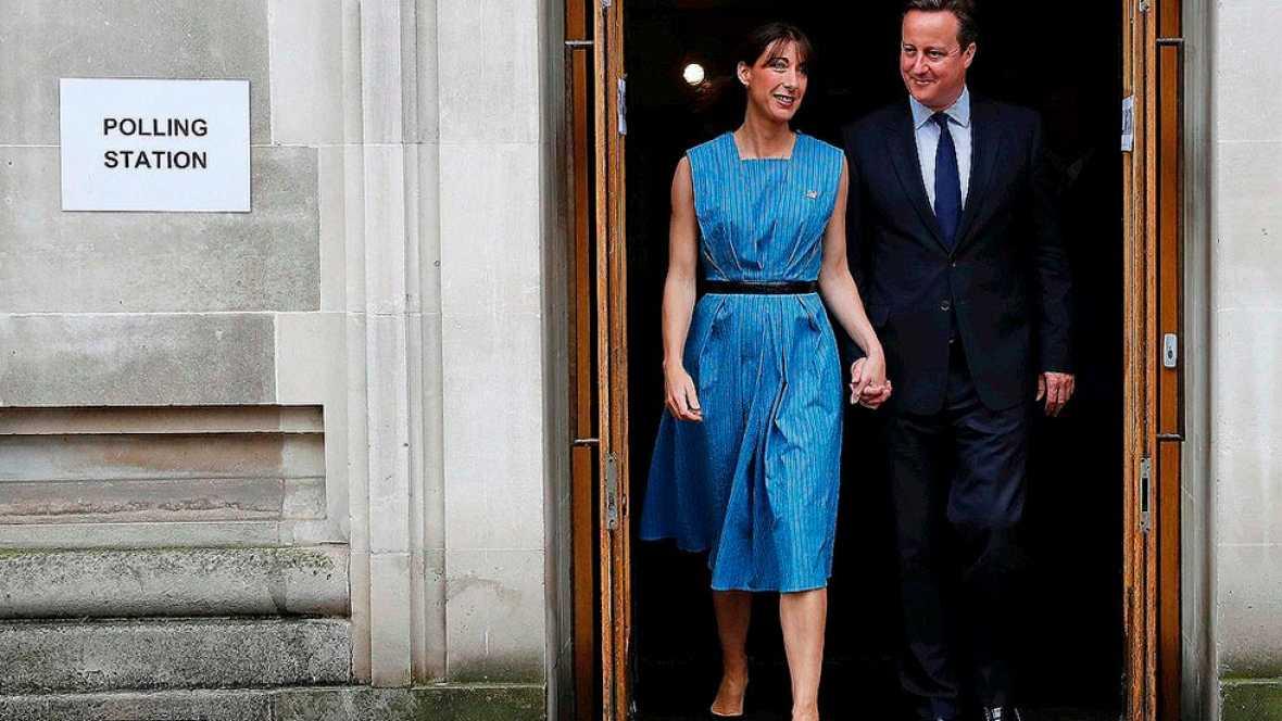 Los británicos votan en el referéndum que se decidirá si el país continúa en la UE