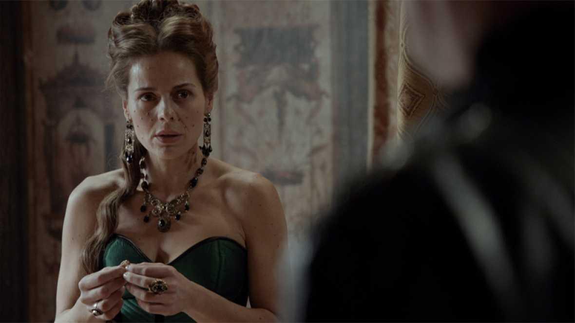 Águila Roja - Hernán le ofrece a Lucrecia casarse con él