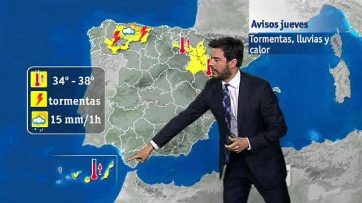 El tiempo en Canarias - 23/06/2016