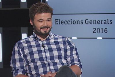 Entrevista electoral - Gabriel Rufián (ERC) 23/'6/2016
