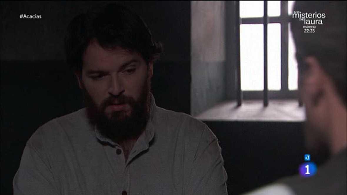 Acacias 38 - Martín le pide a Mauro que no autorice más visitas de Casilda
