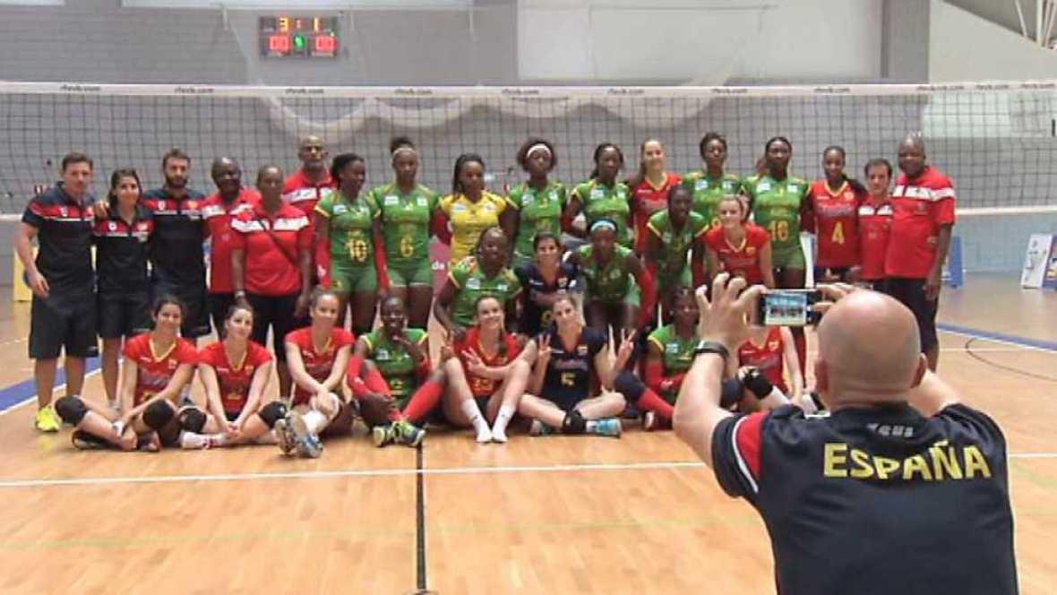 Voleibol - Amistoso Selección Femenina: España-Camerún. Resumen - ver ahora