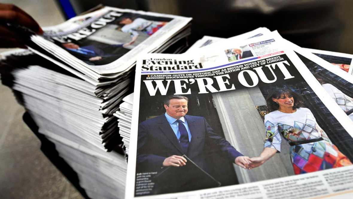 Los británicos deciden salir de la Unión Europea