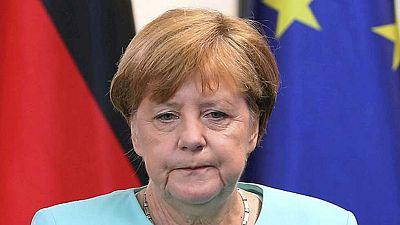 Merkel califica el Brexit como un 'punto de inflexión' en la Unión Europea y pide calma