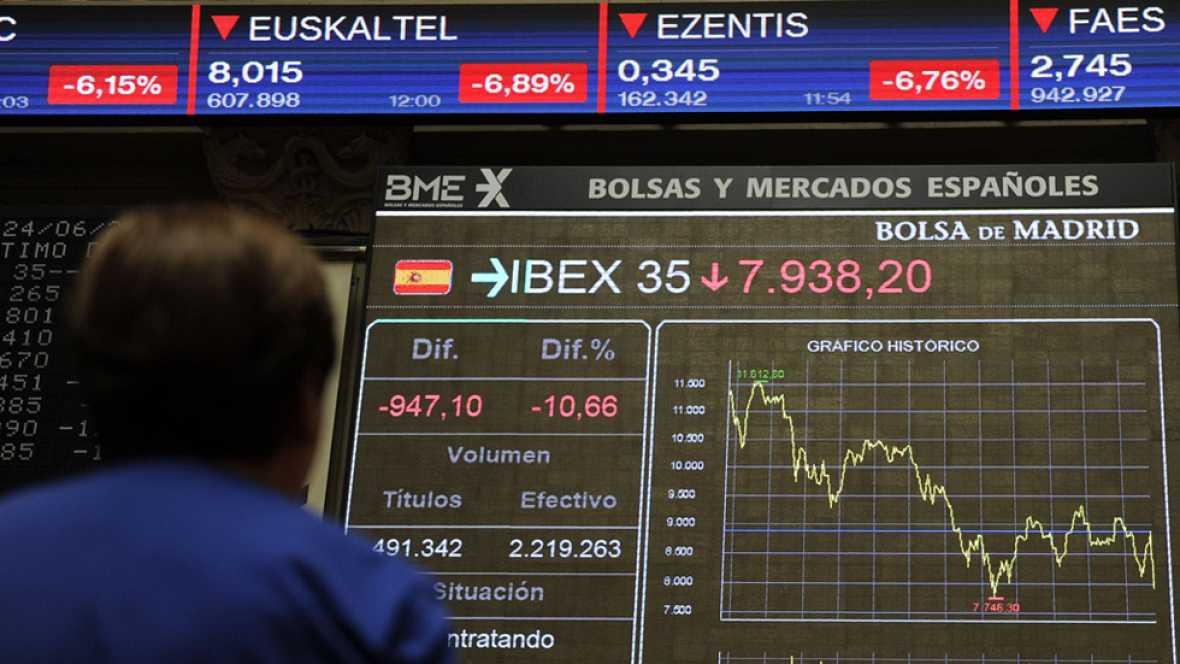 El 'Brexit' provoca un desplome generalizado en las Bolsas mundiales