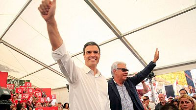 "Pedro Sánchez: ""No votéis ni con miedo ni con rencor, votar con ilusión"""