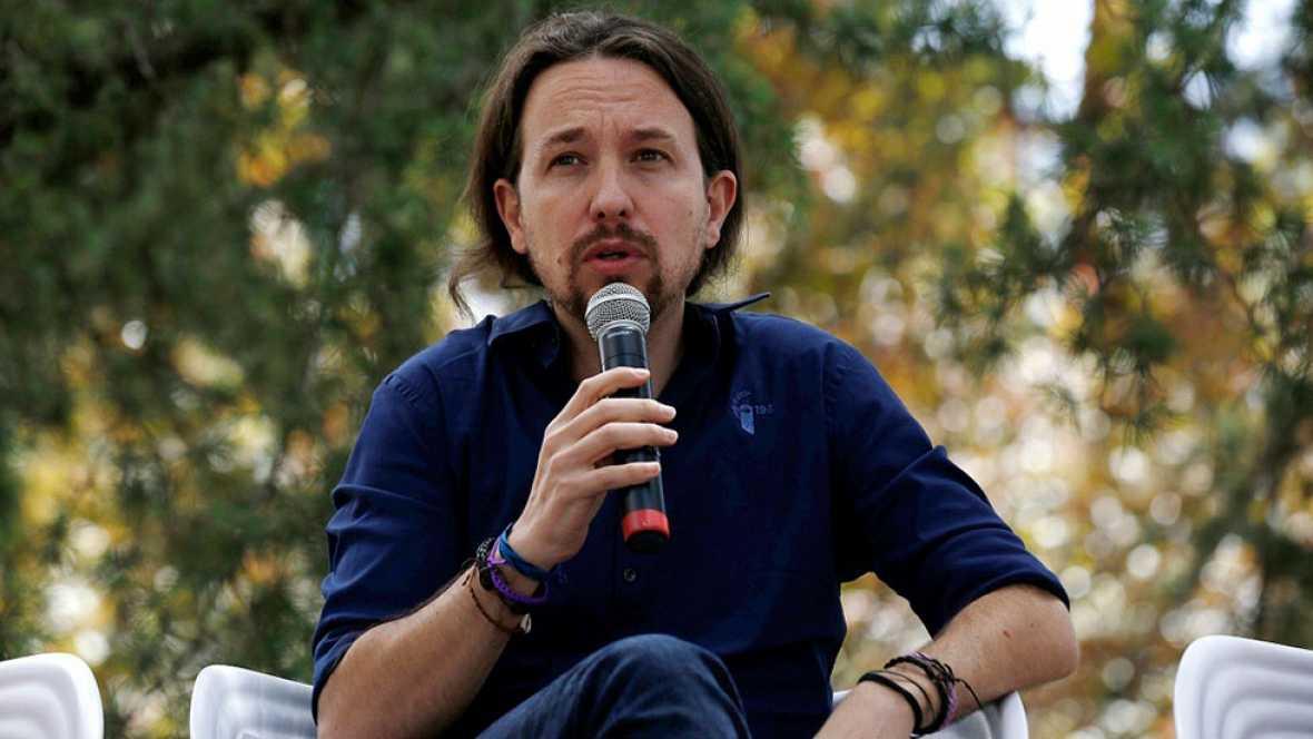Pablo Iglesias presenta como aval la gestión de los ayuntamientos del cambio