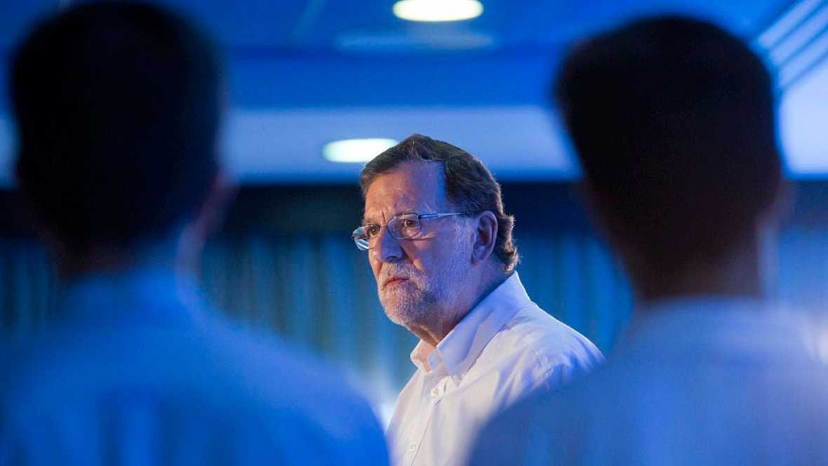 """Rajoy hace una llamada a la sensatez y pide el voto de todos los """"moderados"""""""