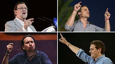 Los partidos despiden la campaña apelando a la lealtad de sus votantes
