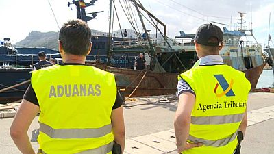 Patrulleras francesas y españolas combaten el narcotráfico en el mar de Alborán