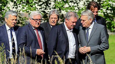 """Los ministros de exteriores de los países fundadores de la UE urgen a Reino Unido a una salida """"cuanto antes"""""""