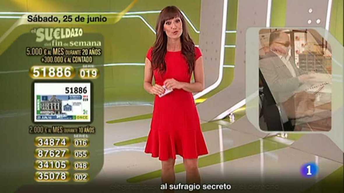 Sorteo ONCE - 25/06/16 - ver ahora