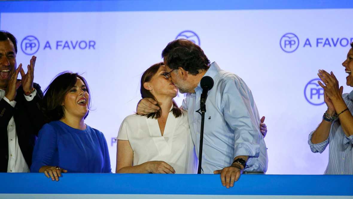 El PP refuerza su mayoría y el PSOE resiste ante Unidos Podemos, que no consuma el 'sorpasso'