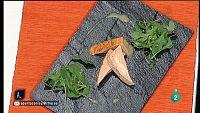 A punto con La 2 - Cocina a punto - Pastel de salm�n con salsa de mostaza