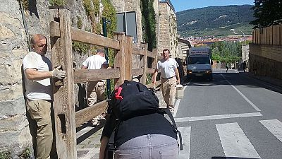 Pamplona se prepara para San Ferm�n