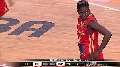 Baloncesto - Campeonato del Mundo Femenino Sub-17. 1/8 Final - ver ahora