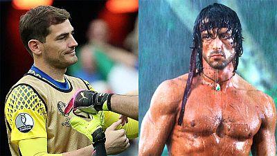 Casillas tuitea a Rambo y se interpreta como un adiós