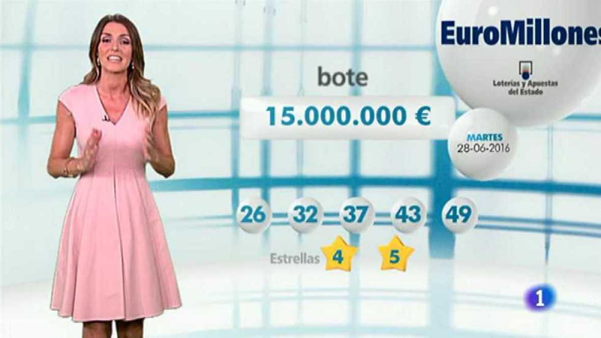 Bonoloto + EuroMillones - 28/06/16 - ver ahora
