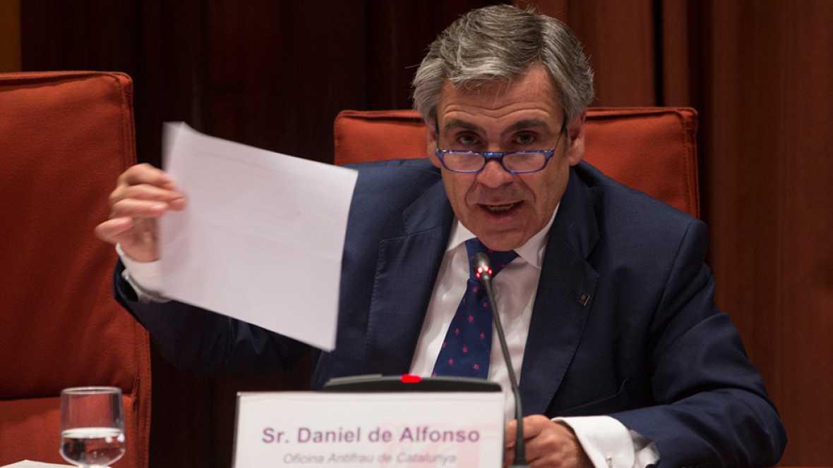 El Parlament revoca a Daniel de Alfonso como jefe Antifraude tras las grabaciones con Fernández Díaz