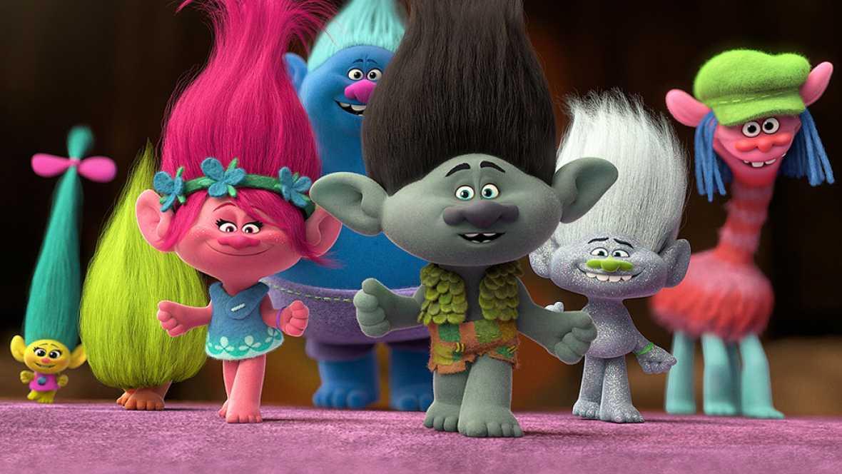 RTVE.es estrena el tr�iler en espa�ol de 'Trolls', la nueva pel�cula de animaci�n de Dreamworks