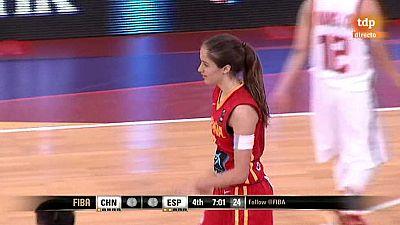 Baloncesto - Campeonato del Mundo Femenino Sub-17.1/4 Final: China-España - ver ahora