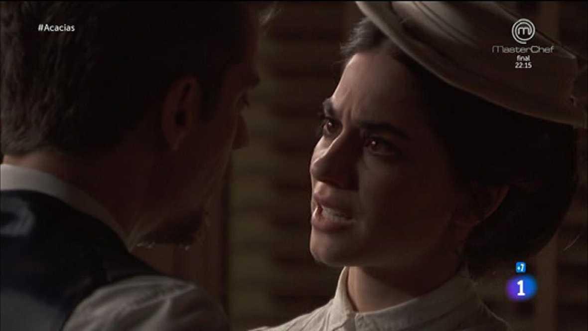 """Acacias 38 - Mauro a Teresa: """"Pídemelo y no me casaré"""""""